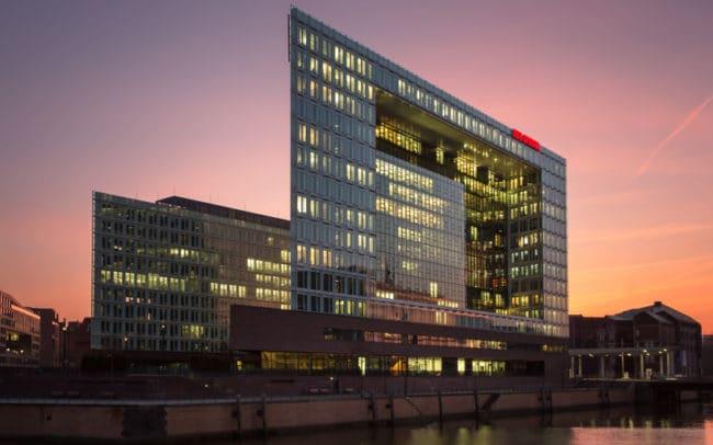 Spiegelgebäude Hafencity