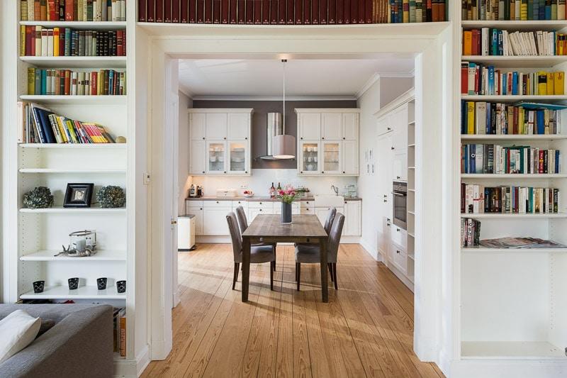 Architekturfotografie Vorher Nachher Küche