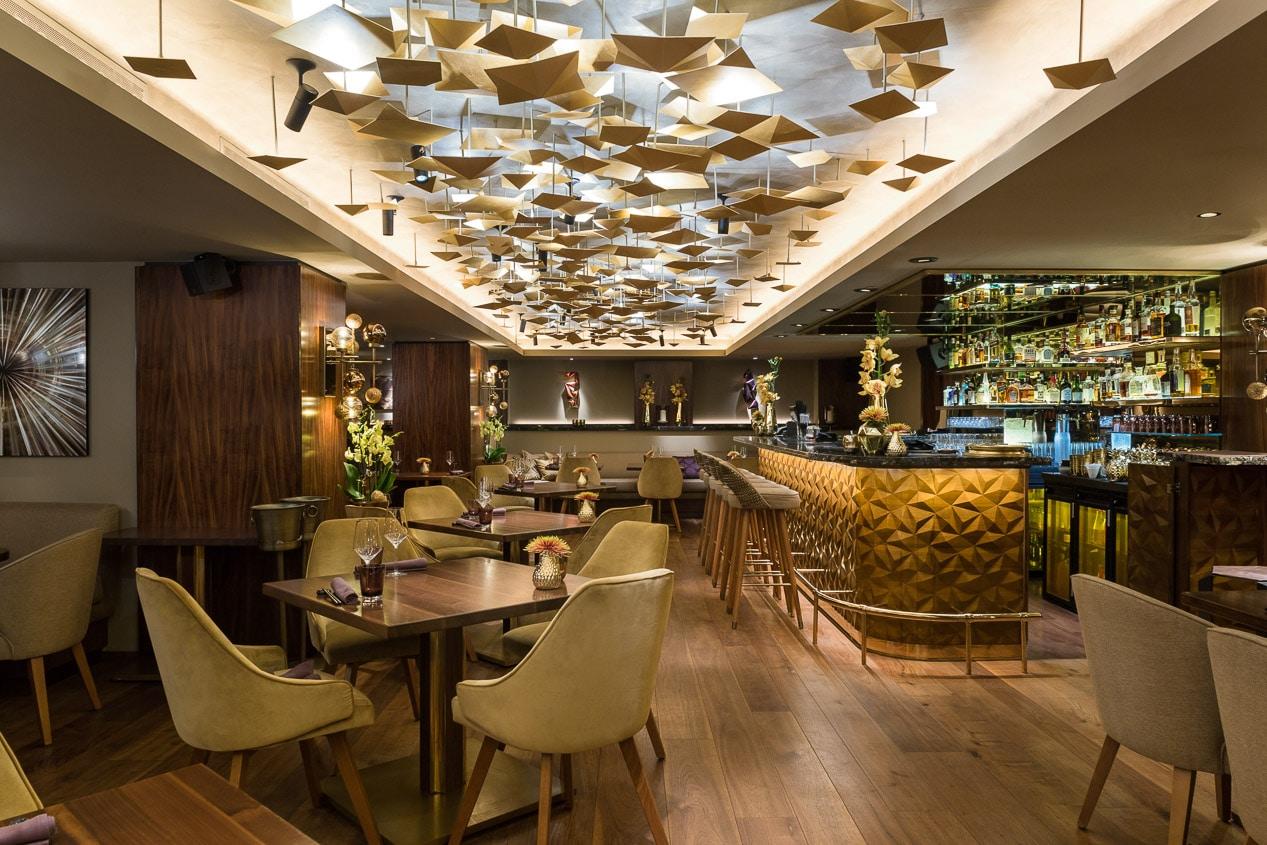Nikkei Nine Restaurant Architekturfotografie