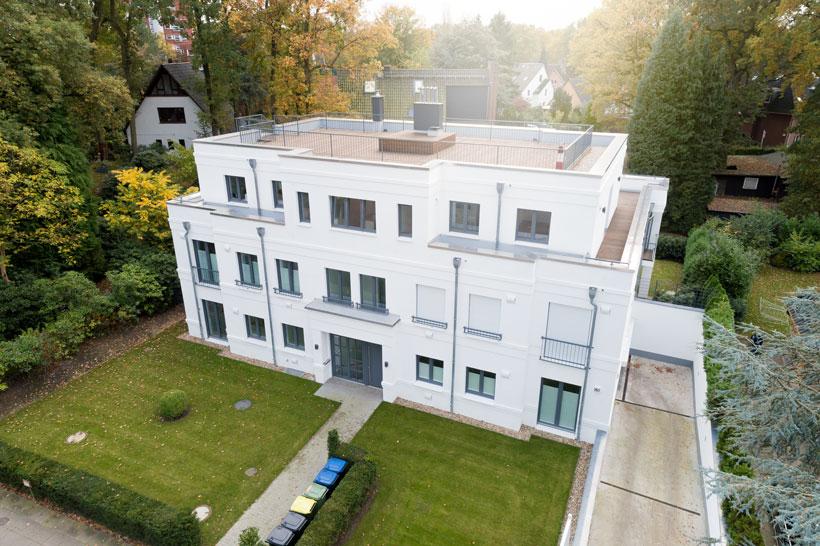 Drohnenfotografie Engel Völkers Immobilien
