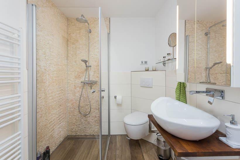 Badezimmer fotografiert für Engel & Völkers