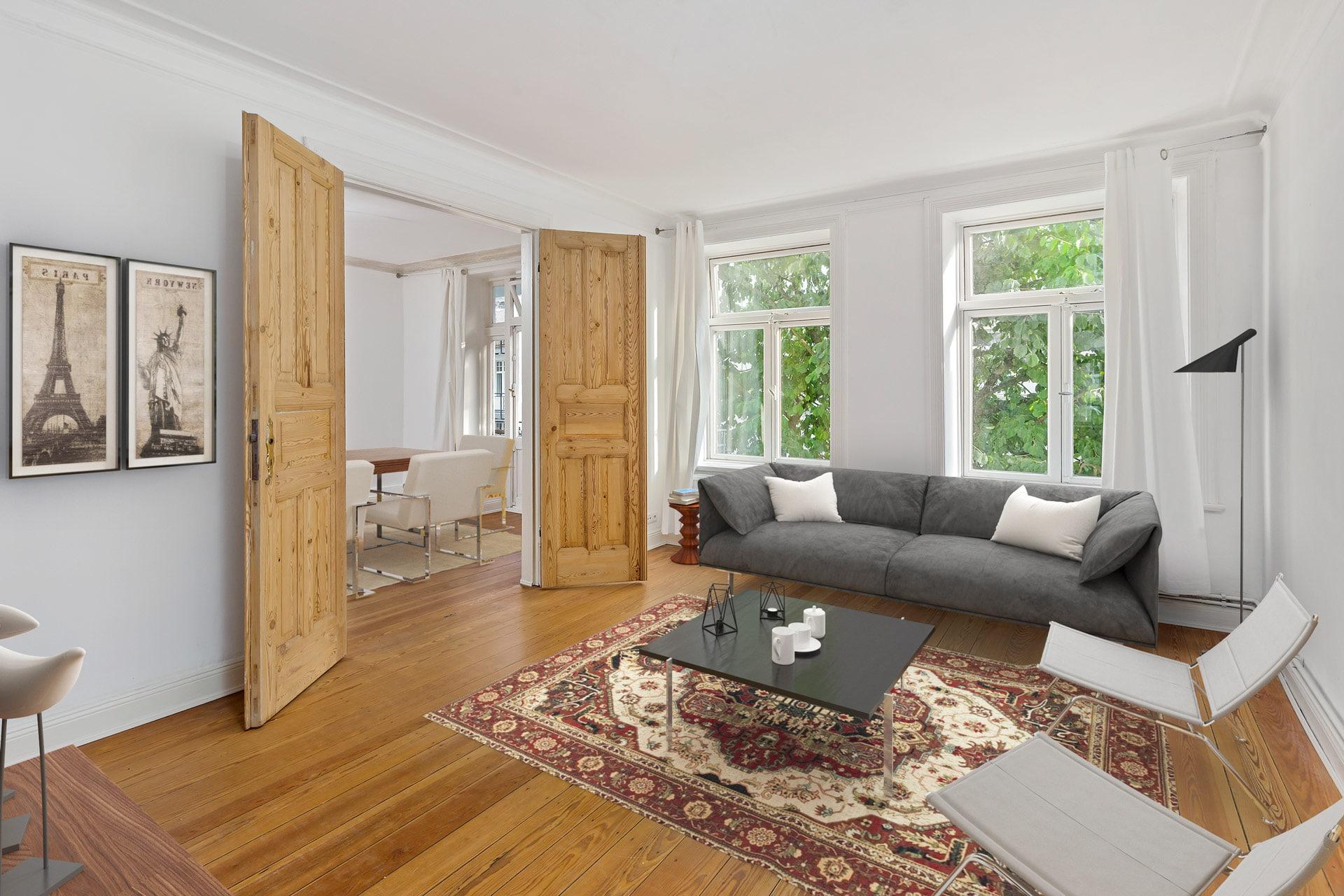 Virtuelles Home Staging Ergebnis