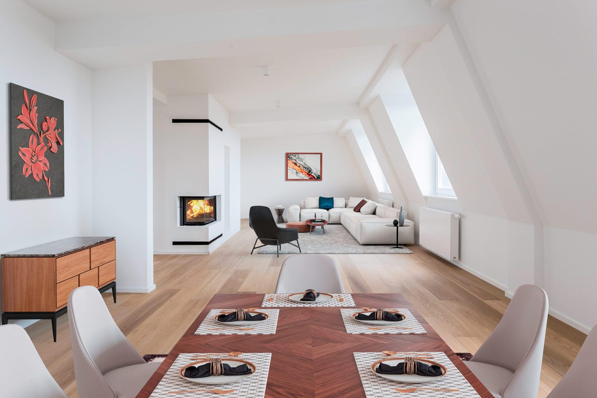 Virtuelles Homestaging | Architekturfotografie Bach | Moderne ...