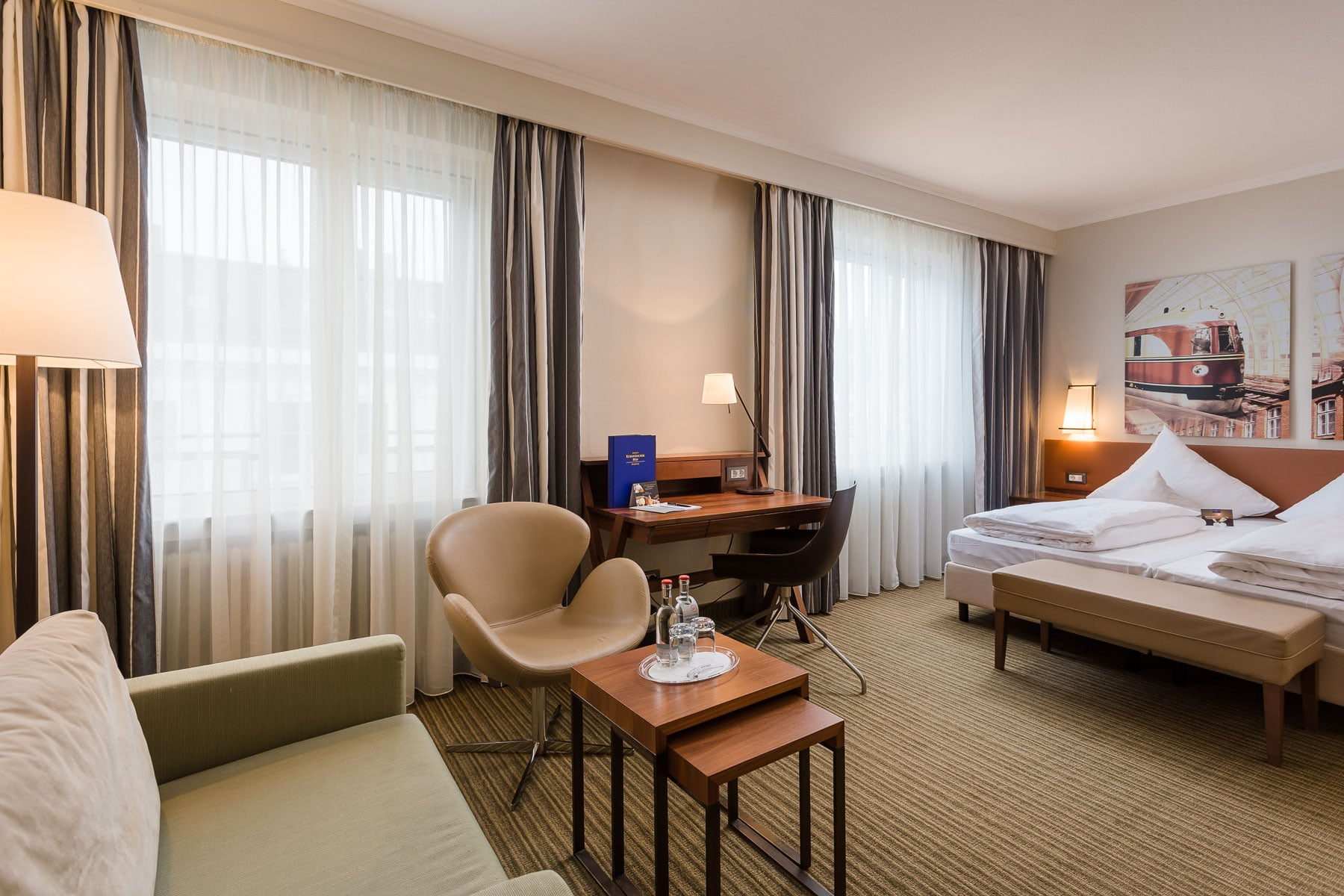 Hotelfotografie Hamburg Zimmer