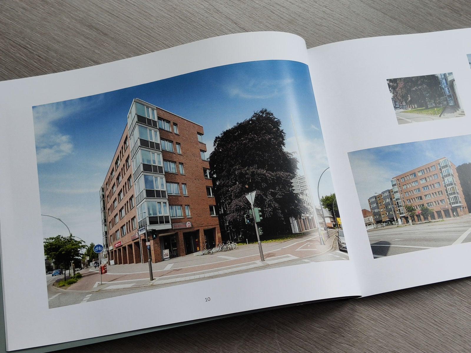 Broschüre Architektur Stellingen