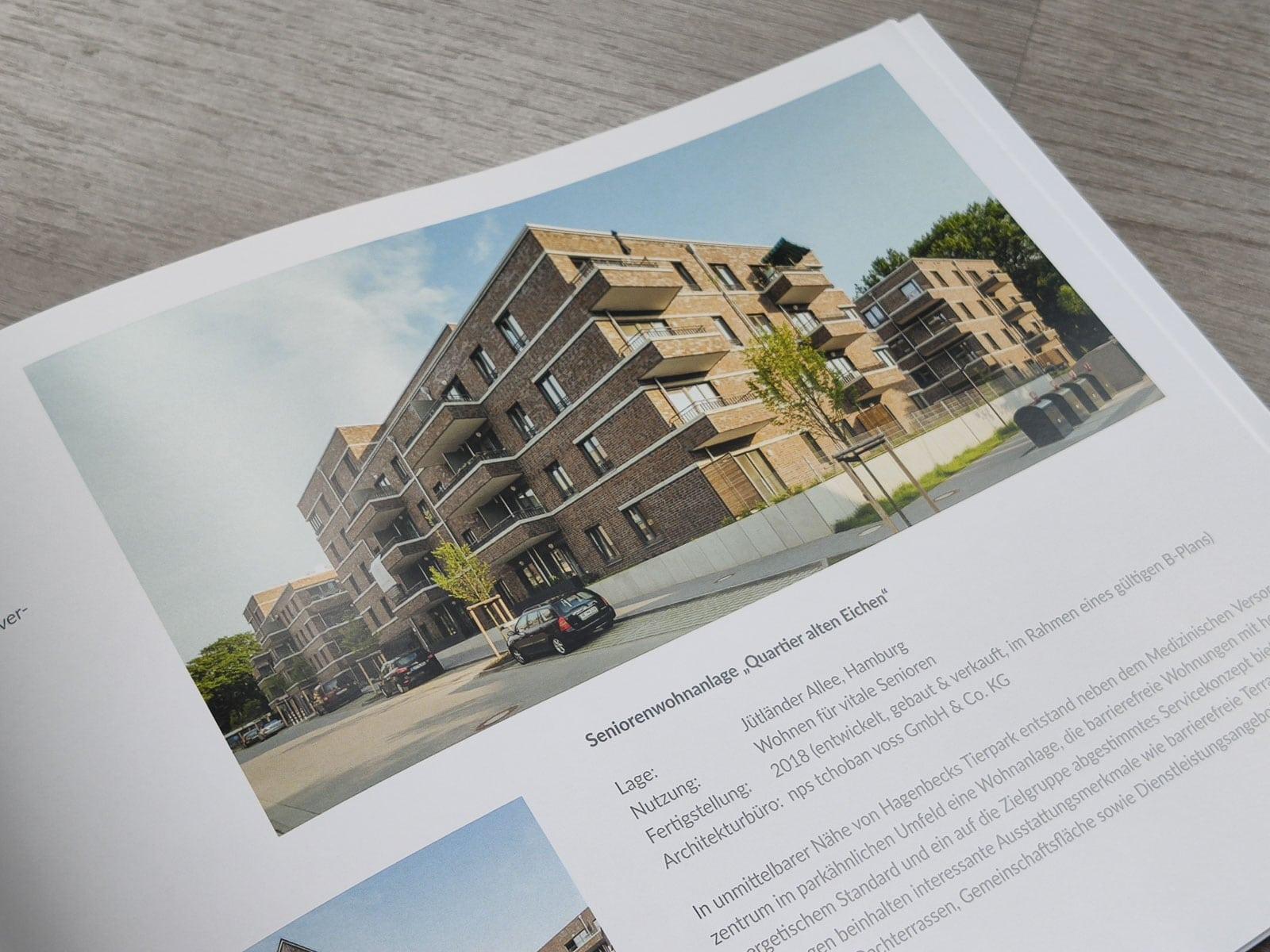 Gebäudefotografie Seniorenresidenz Grandweg