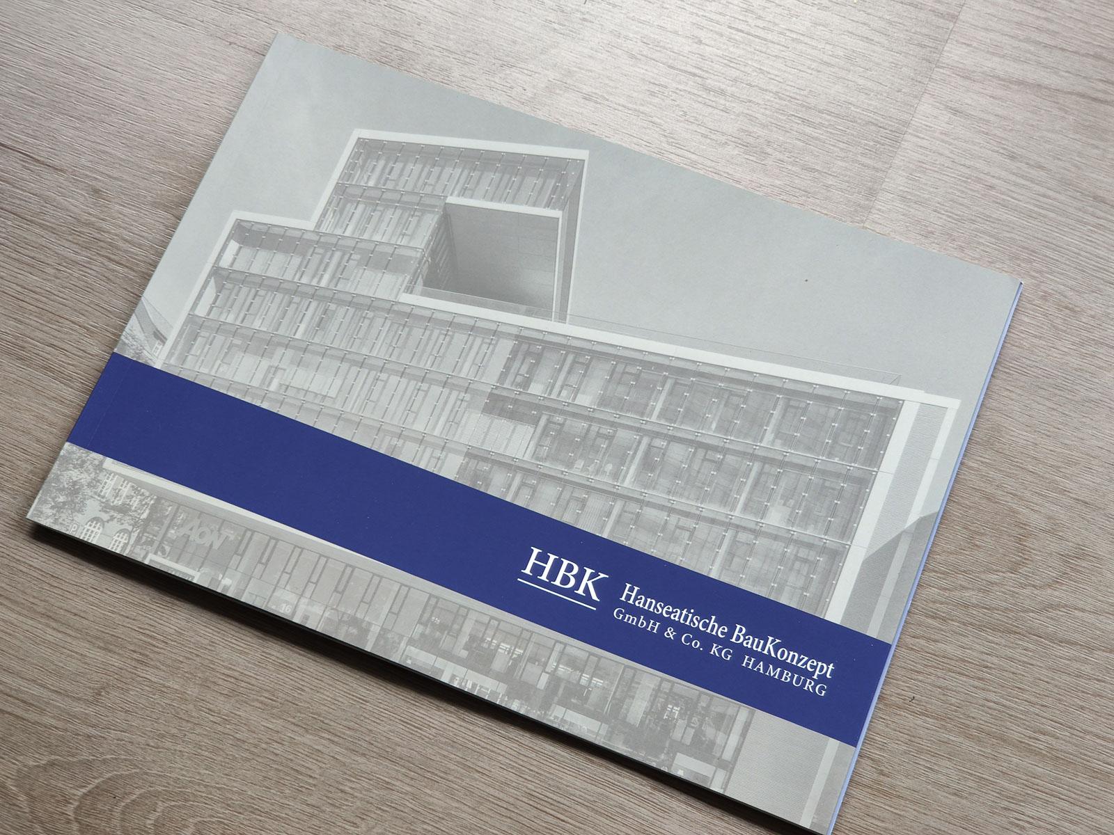 Vorderseite Broschüre Architekturfotografien