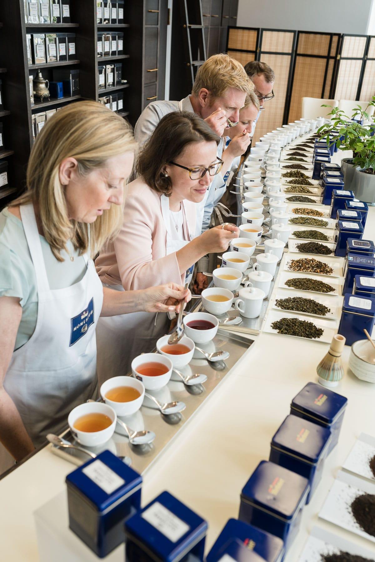 Teeschulung im Meßmer Momentum