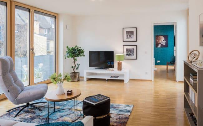 Immobilien Fotograf Wohnzimmer