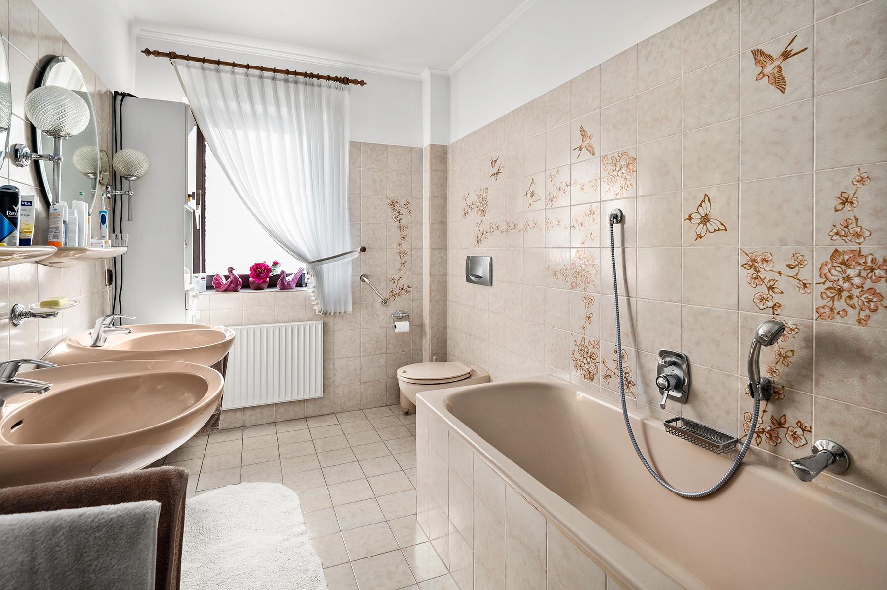 Digitale Renovierung Badezimmer