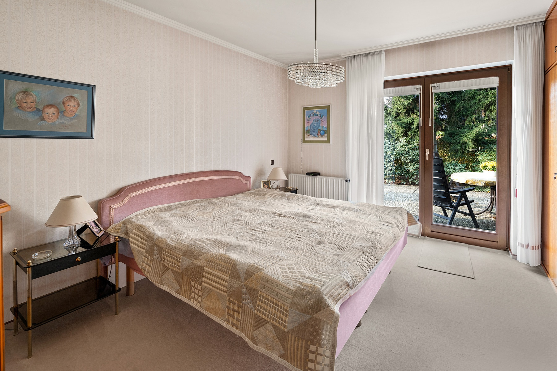 Virtuelle Renovierung Schlafzimmer vorher