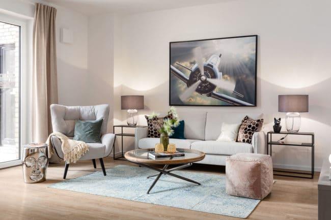 Wohnzimmer Innenraumfotografie