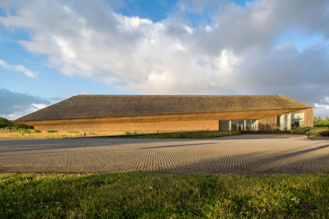 Vadehavscentret Dänemark Frontansicht
