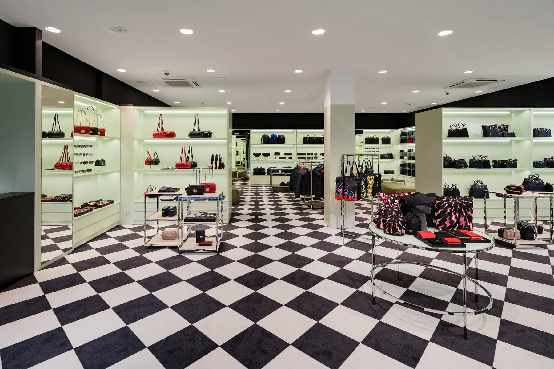 Interieurfotografie im Prada Store