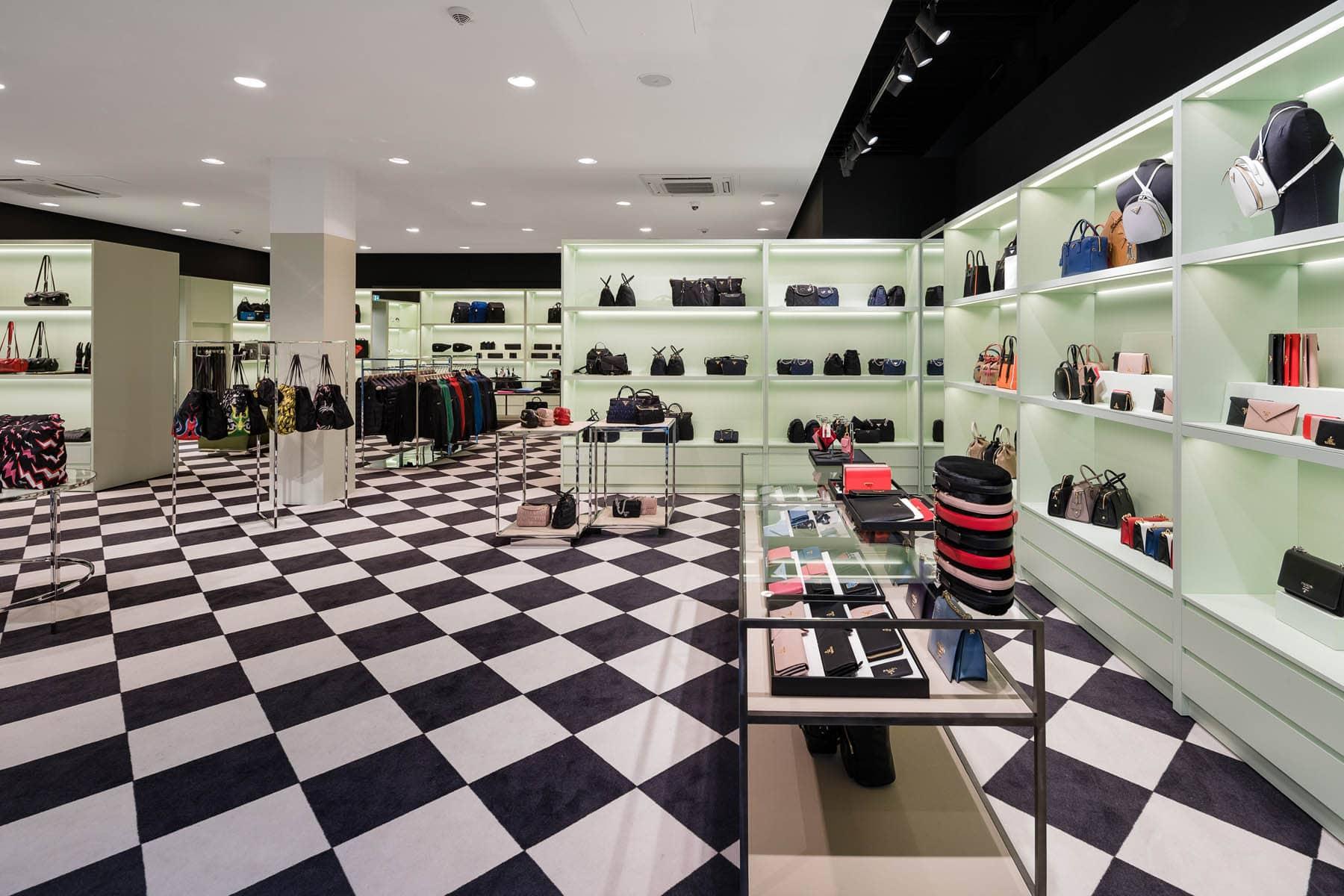 Architekturfoto Prada Store