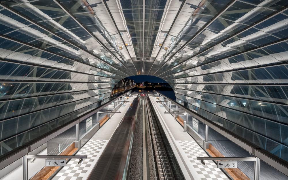 Elbbrücken U-Bahn Station